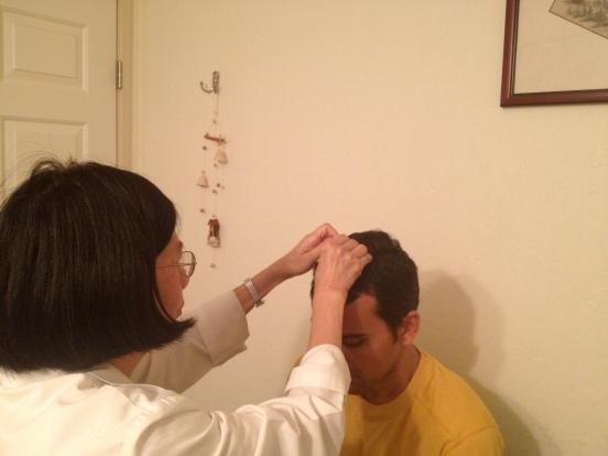 Getting Scalp Needles