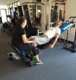 SCI-FIT - Assisted squats