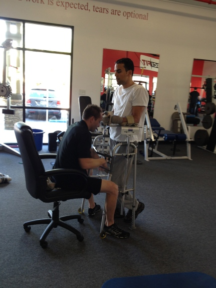 SCI-FIT - Walking with support