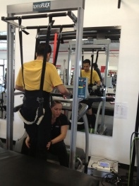 SCI-FIT - Gait training on the treadmill
