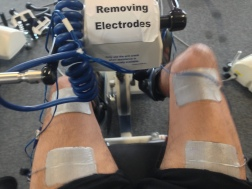 Riding the FES Bike